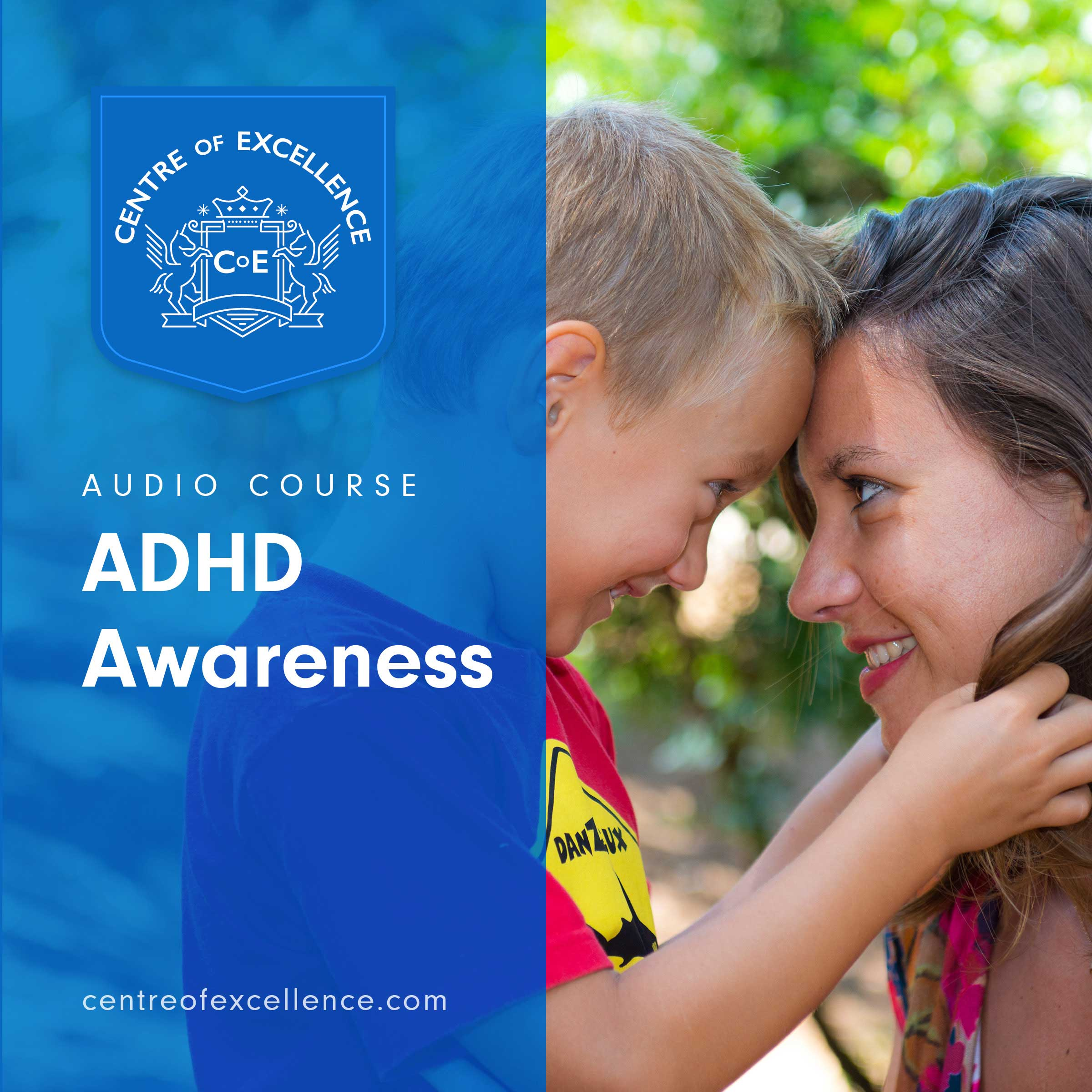 ADHD Awareness Audiobook Cover