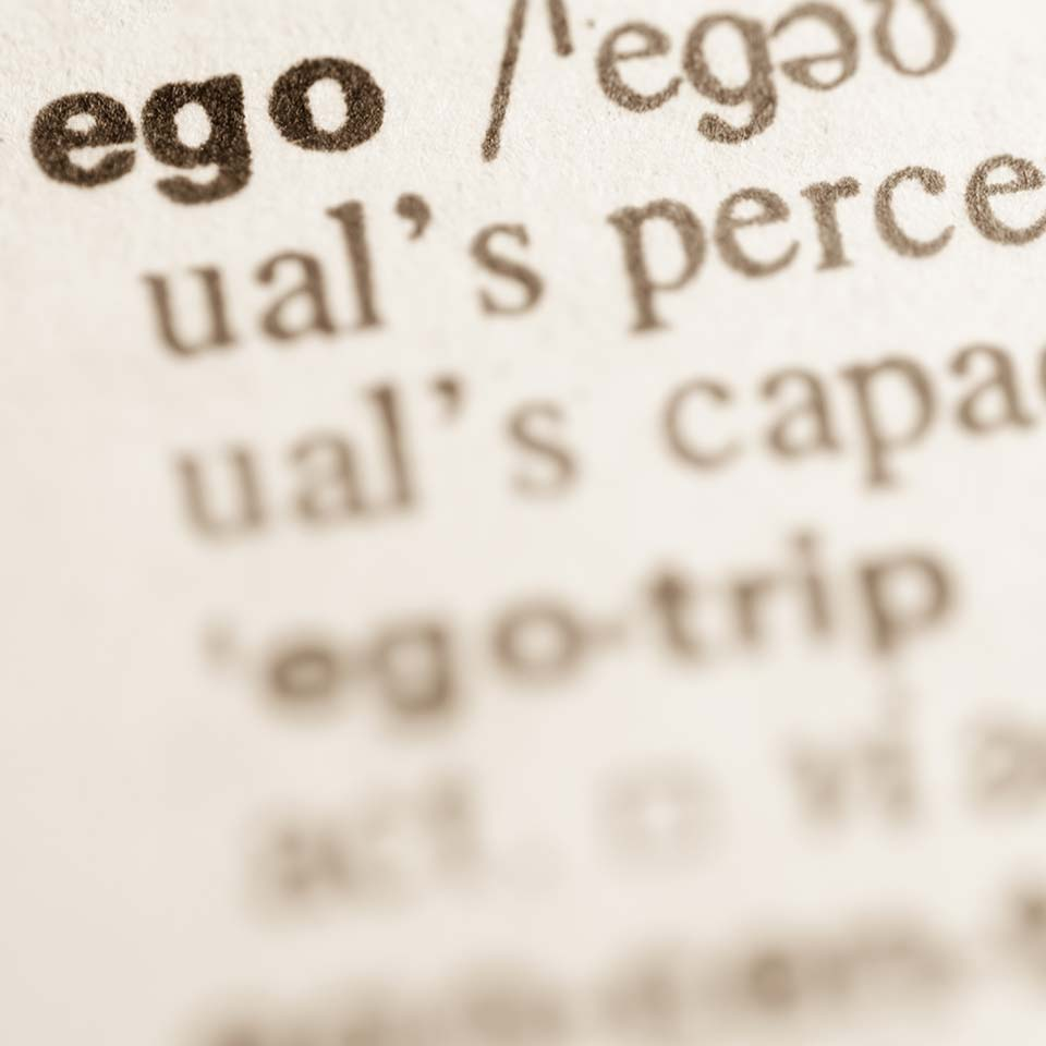 Dictionary definition of Ego