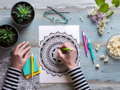 Colour Me Calm – The Benefits of Adult Colouring Books
