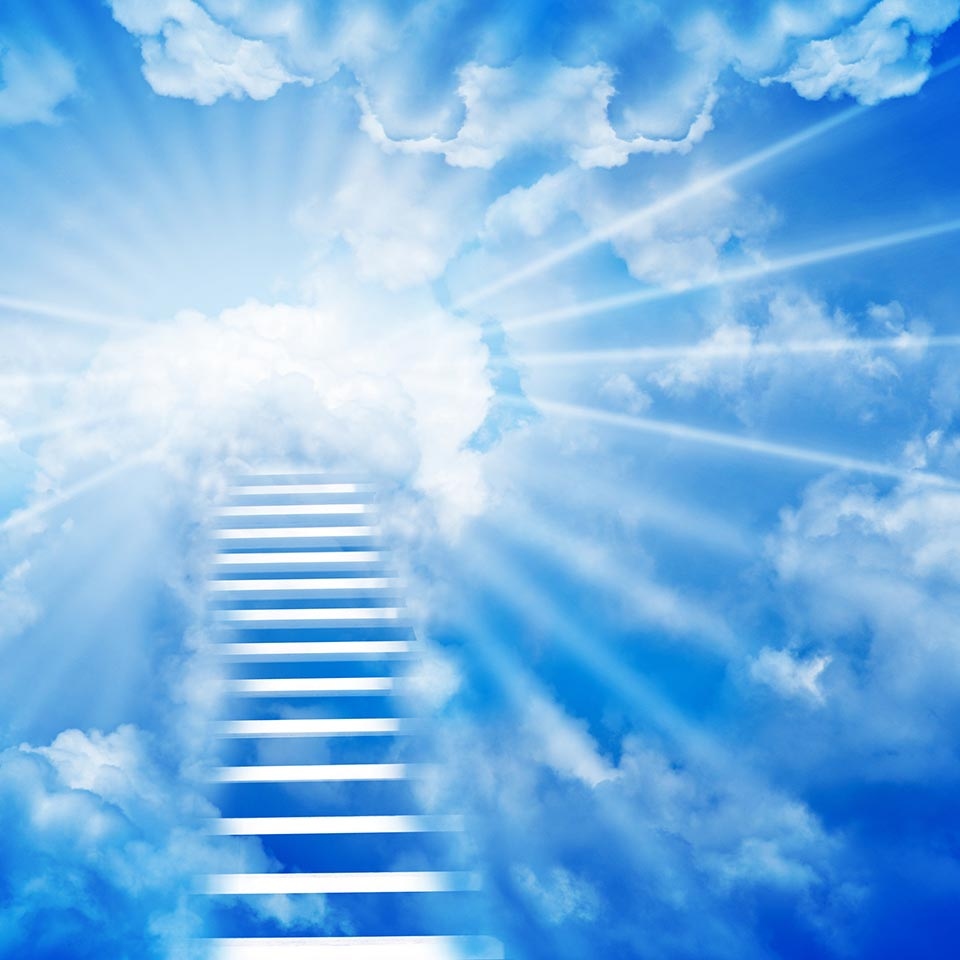 Stairway leading to Heaven