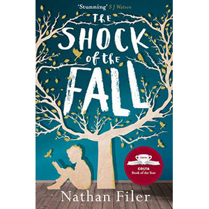 The Shock of the Fall – By Nathan Filer. One of our favourite mental health books