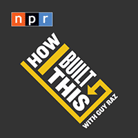 How I Built This logo - business podcasts by NPR