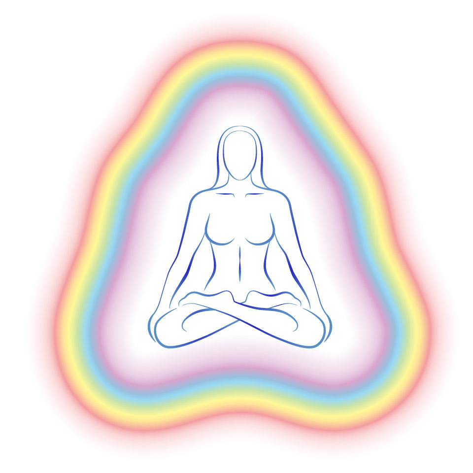 Aura Meditation Subtle Body Woman
