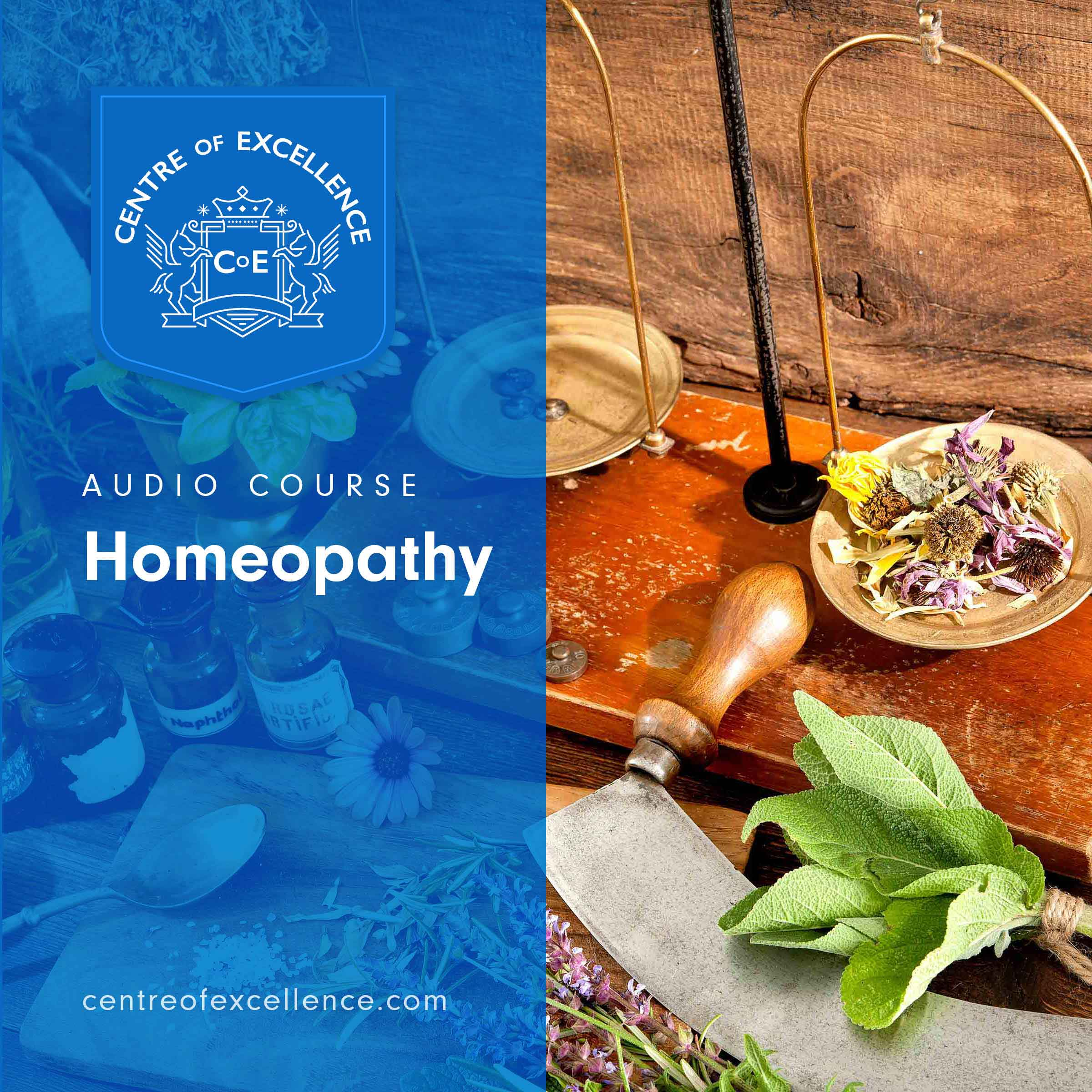 Homeopathy Audio Course Cover