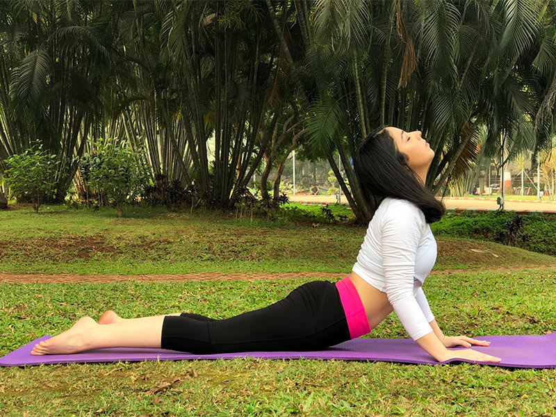 ] for Back Pain - Cobra Pose