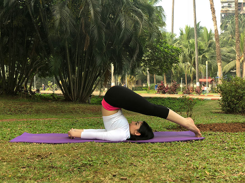 ] for Back Pain - Plow Pose