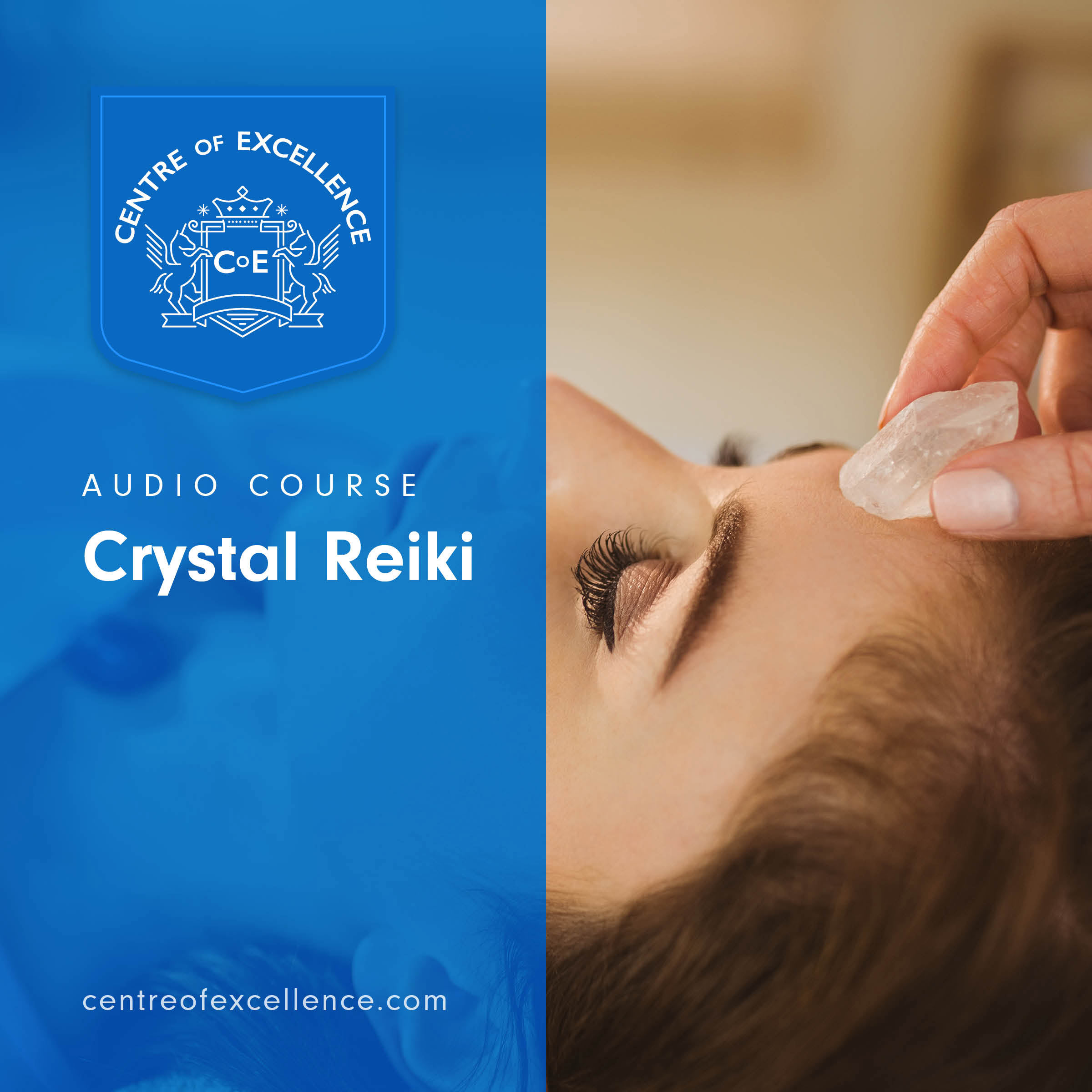 Crystal Reiki Audio Course