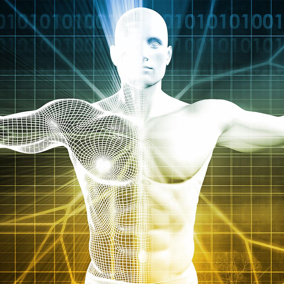 3D Illustration of a man