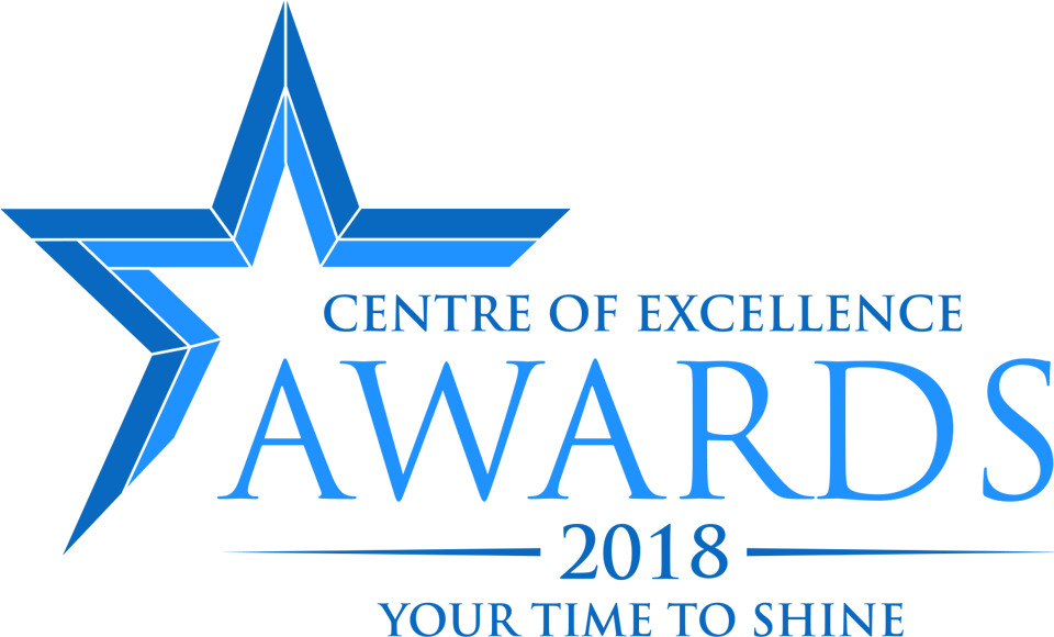 Centre of Excellence Awards 2018 Logo